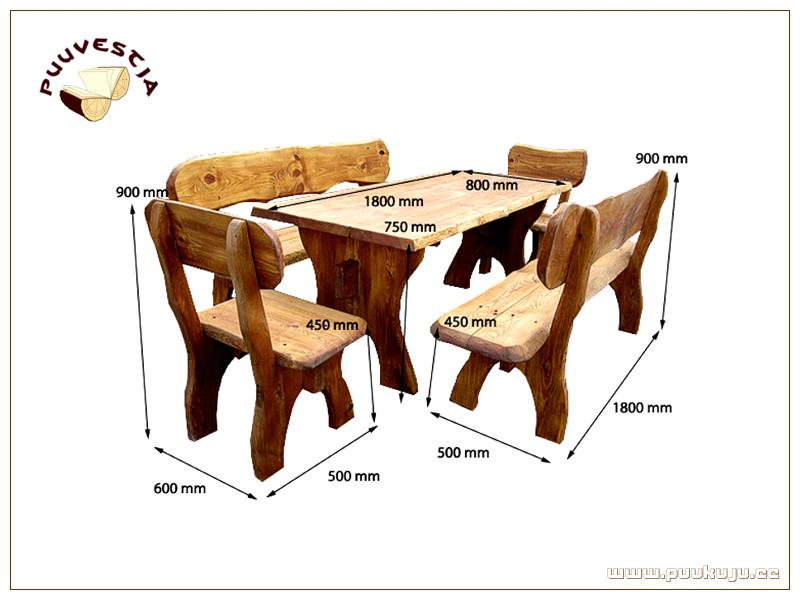 Mööblikomplekt / Set of furniture 3