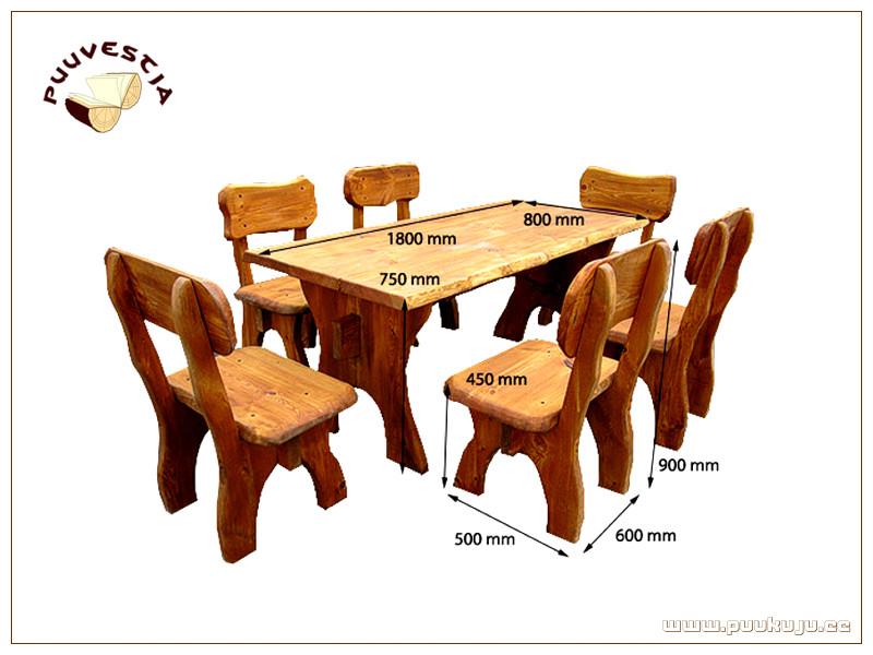 Mööblikomplekt / Set of furniture 6